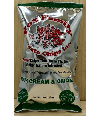Fox Family Sour Cream & Onion chips 1.8oz bag