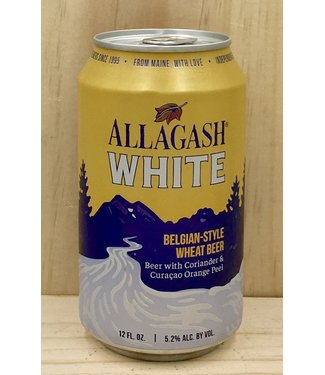 Allagash White 12oz can 6pk