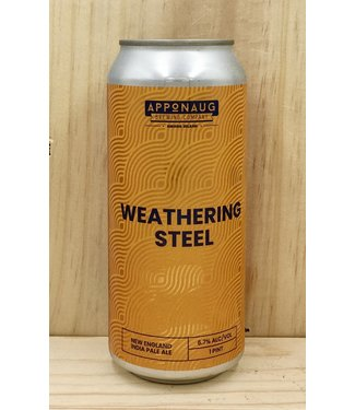 Apponaug Weathering Steel NEIPA 16oz can 4pk