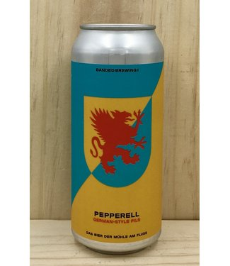Banded Pepperell Pilsner 16oz can 4pk