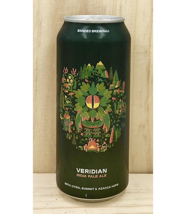 Banded Veridian IPA 16oz can 4pk