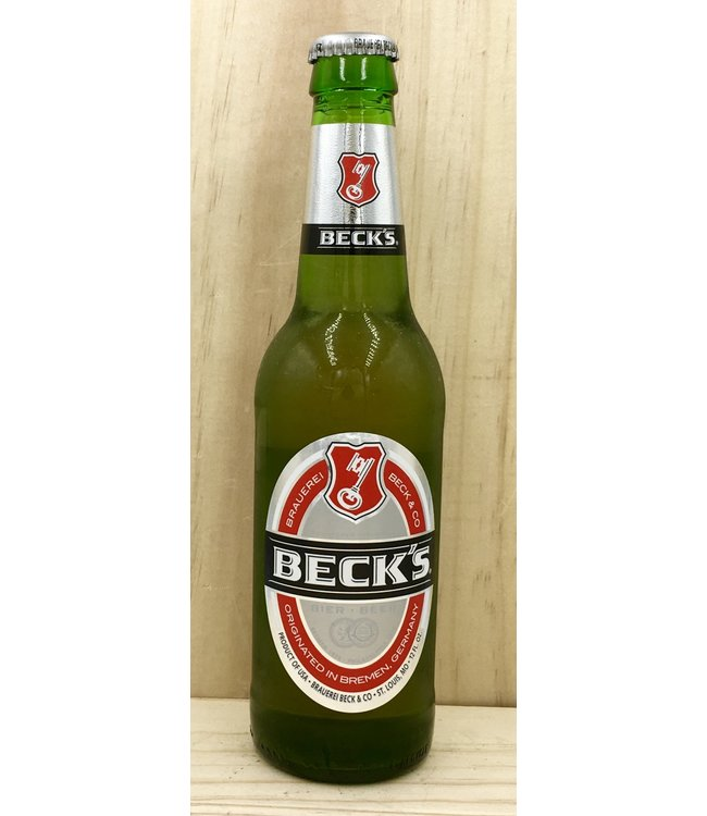 Becks 12oz bottle 6pk
