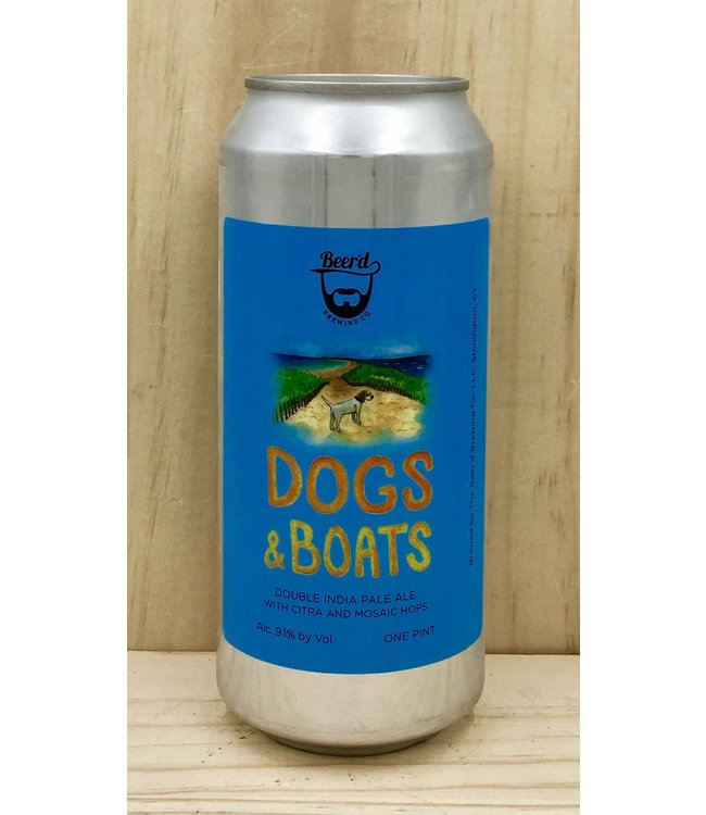 Beer'd Dogs and Boats 16oz can 4pk