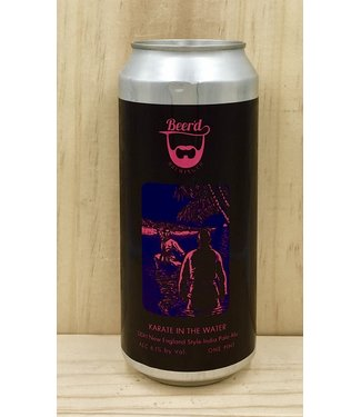 Beer'd Karate in the Water NEIPA 16oz can 4pk