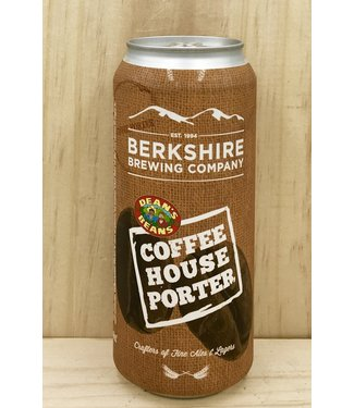 Berkshire Coffeehouse Porter 16oz can 4pk