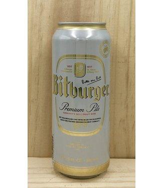 Bitburger Pilsner 16.9oz can 4pk