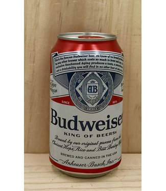 Bud 12oz can 12pk