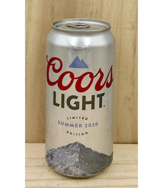 Coors light 12oz can 30pk