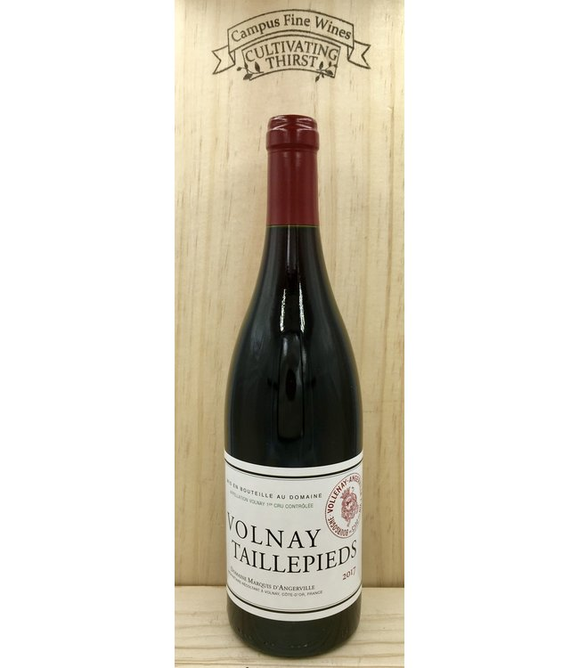 Domaine Marquis D'Angerville Volnay 1er Cru Taillepieds 2017 750mL