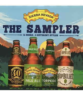 Sierra Nevada The Sampler variety 12oz bottle 12pk