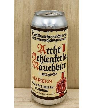 Aecht Schlenkerla Rauchbier Marzen 16oz can 4pk