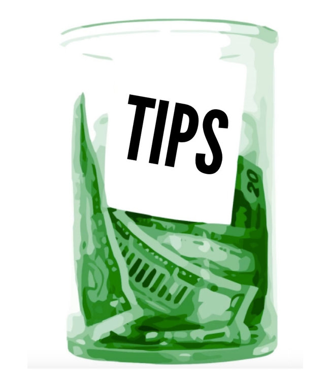 Tip the Driver $10