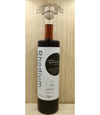 RI Spirits Rhodium Coffee Walnut Vodka 750ml