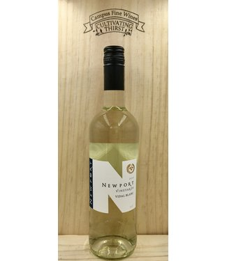 Newport Vineyard Vidal Blanc 2018