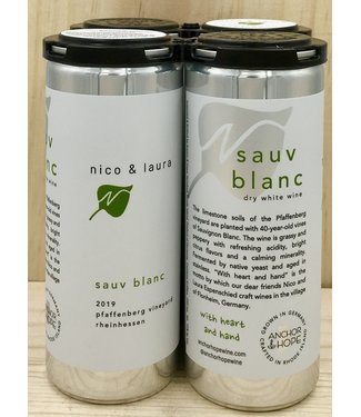 Anchor & Hope 'Nico & Laura' Sauvignon Blanc 250ml can 4pk