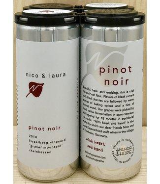Nico & Laura Pinot Noir 250ml can 4pk