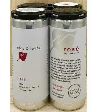 Anchor & Hope 'Nico & Laura' Rosé 250ml can 4pk