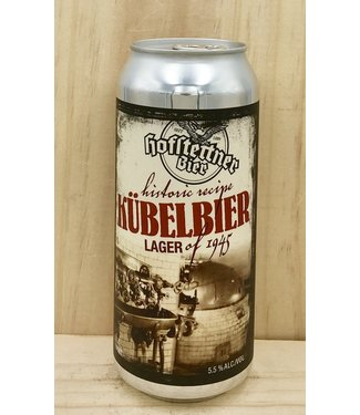 Hofstetten's Kubelbier 16oz can 4pk