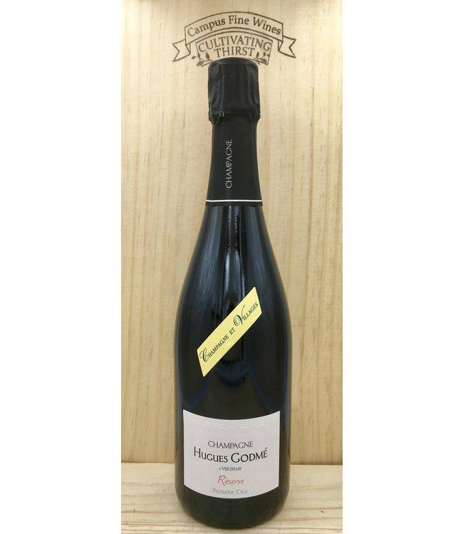Champagne Hugues Godme Reserve Brut 1er Cru NV 750ml