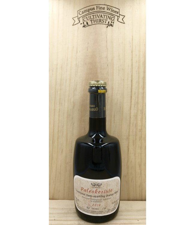 Glinavos Paleokerisio Semi Sparkling Orange Wine 500ml