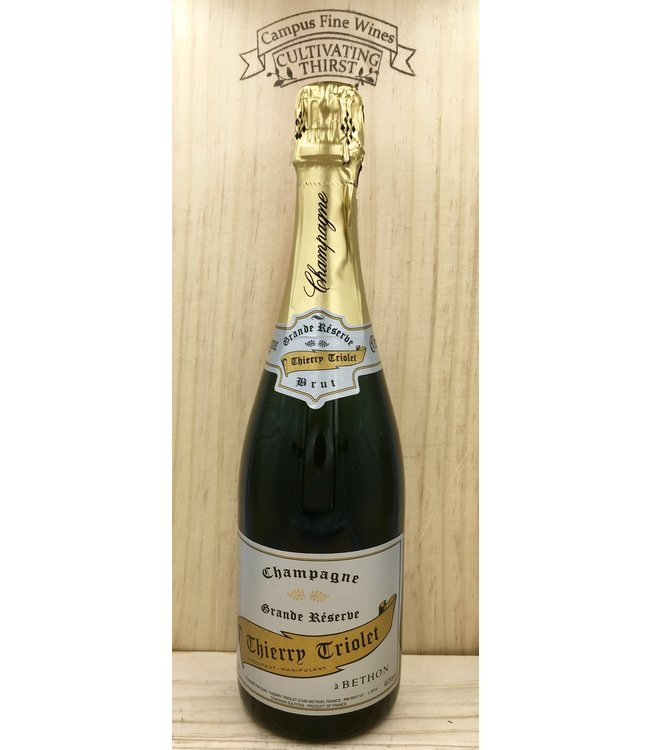 Champagne Triolet Grand Reserve Brut 750ml