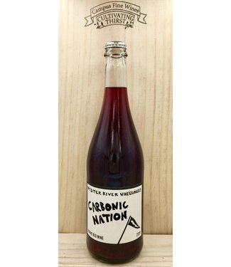 Oyster River Carbonic Nation Red 2019 750mL
