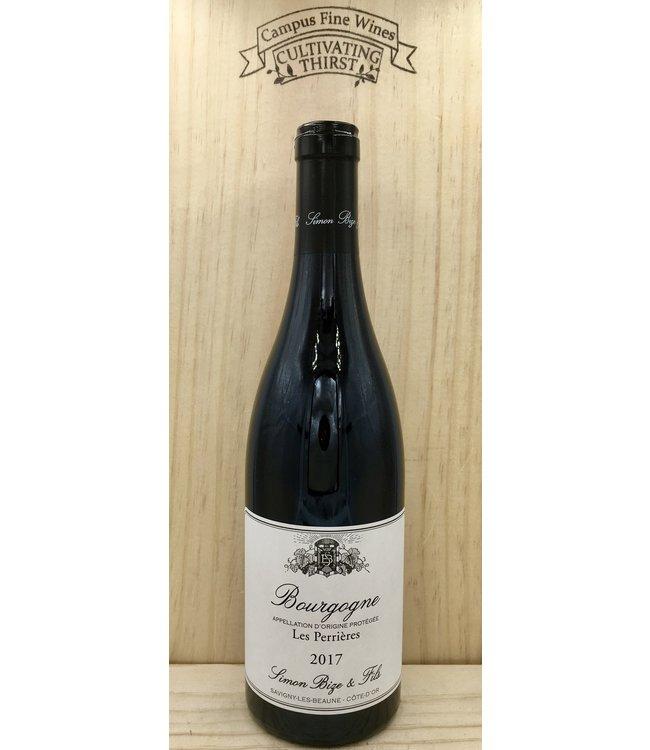 Simon Bize Bourgogne Rouge Les Perriers 2017 750ml