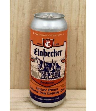 Einbecker Historic Brauherren unfiltered Pilsner 16oz can 4pk