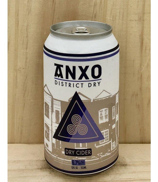 Anxo District Dry 12oz can 4pk