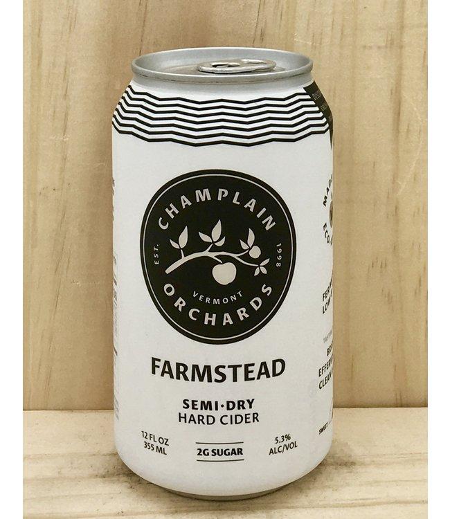 Champlain Farmstead original semi-dry 12oz can 4pk