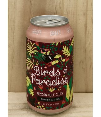 Graft Birds of Paradise Moscow Mule 12oz can 4pk