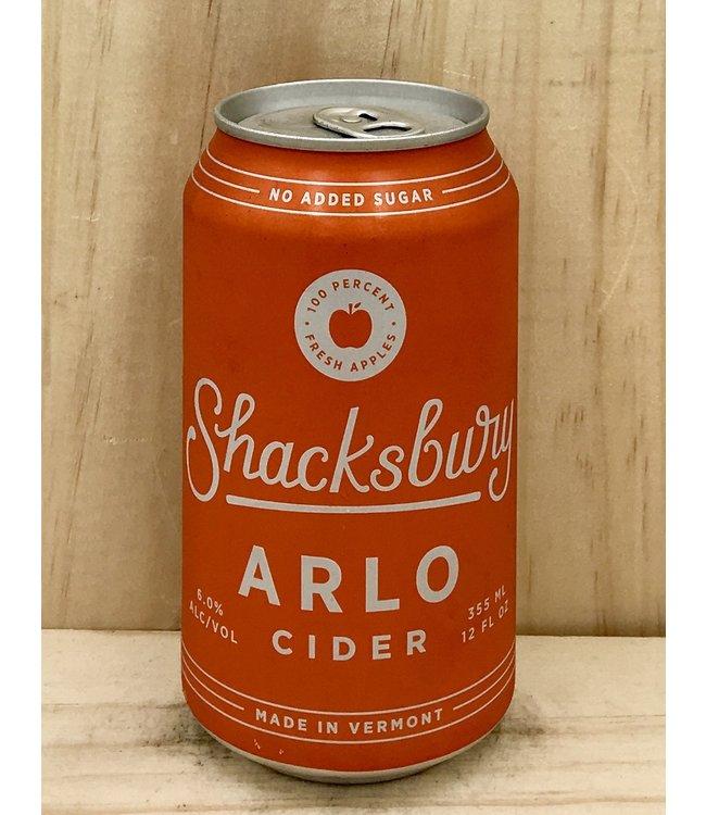 Shacksbury Arlo Cider 12oz can 4pk