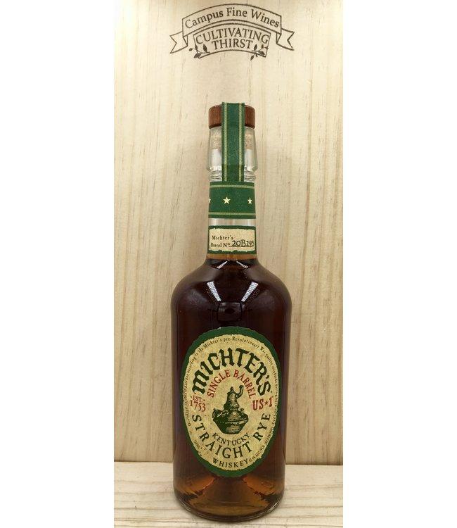 Michters Straight Rye  Whiskey 750ml