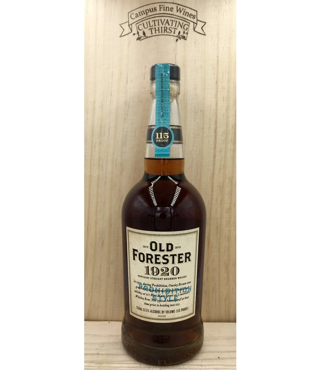 Old Forester 1920 Prohibition Style Bourbon 750ml
