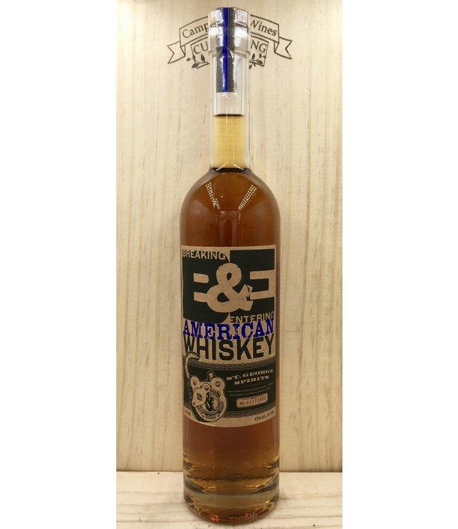 St George B&E American Whiskey