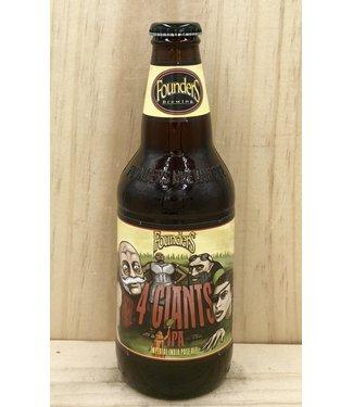 Founders 4 Giants DIPA 12oz bottle 4pk