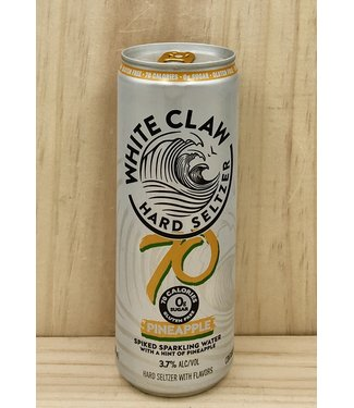 White Claw 70 Pineapple 12oz can 6pk