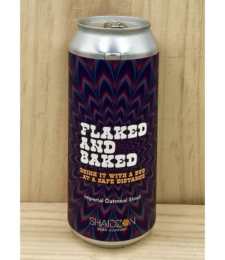 Shaidzon Flaked and Baked imperial oatmeal stout 16oz can 4pk