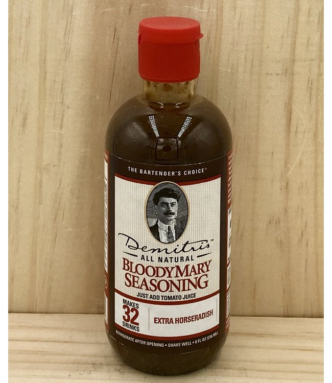 Demitri's Extra Horseradish Bloody Mary Concentrate
