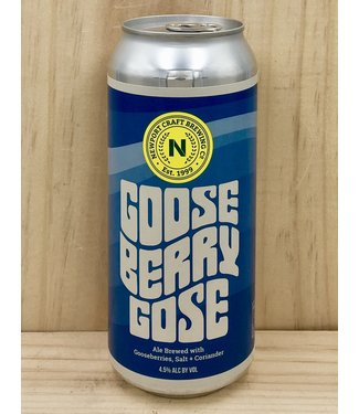 Newport Craft Gooseberry Gose 16oz can 4pk