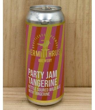 Hermit Thrush Party Jam Tangerine sour 16oz can 4pk