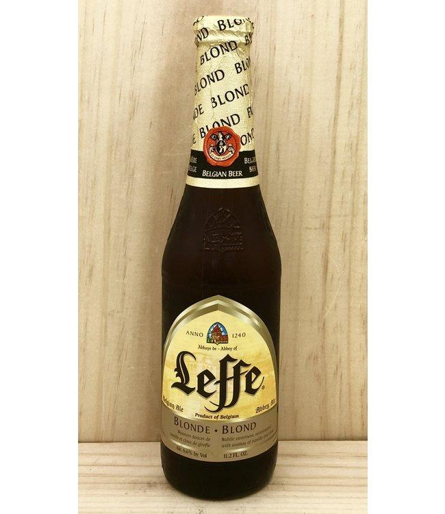 Leffe Blonde 12oz bottle 6pk