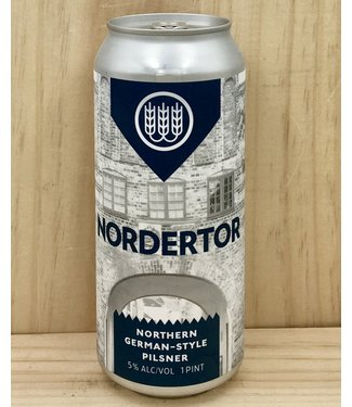 Schilling Nordertor Northern German-style pilsner 16oz can 4pk