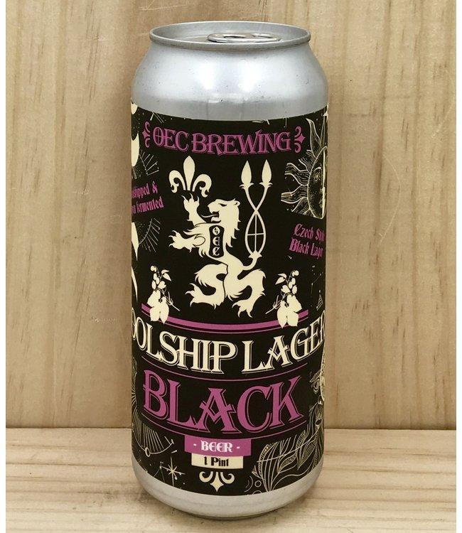 OEC Black Coolship Lager 16oz can 4pk