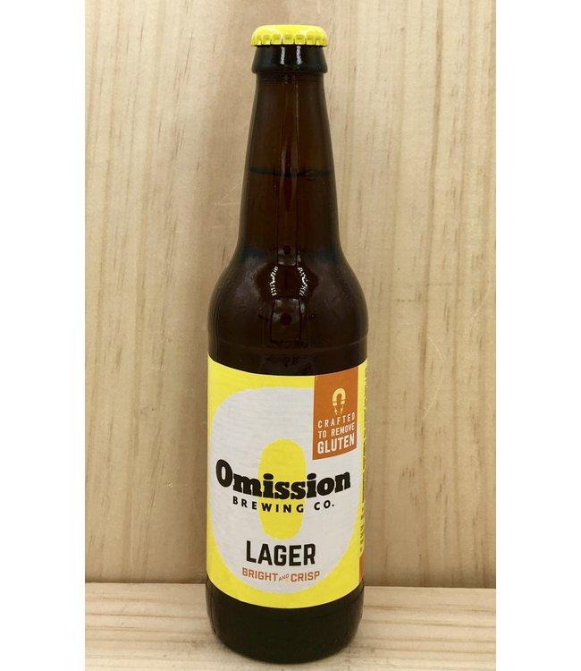 Omission lager 12oz bottle 6pk