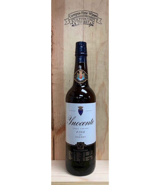 Valdespino Inocente Single Vineyard Fino Sherry 750mL