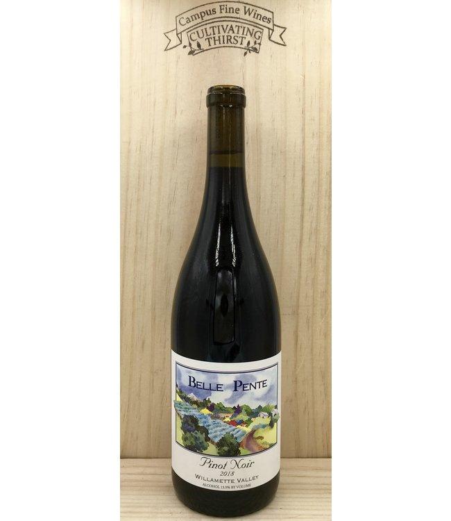 Belle Pente Willamette Valley Pinot Noir 2018