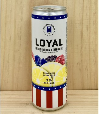 Sons of Liberty Loyal 9 Mixed Berry Lemonade 12oz can 4pk
