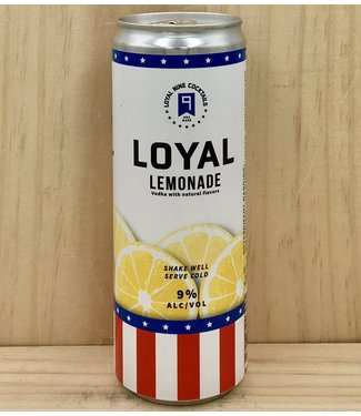 Sons of Liberty Loyal 9 Lemonade 12oz can 4pk