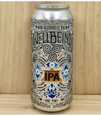 Wellbeing IPA NA 16oz can 4pk